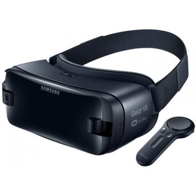 Очки виртуальной реальности Samsung Galaxy Gear VR SM-R325 темно-синий (SM-R325NZVASER)