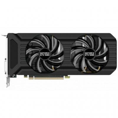 Видеокарта ПК Palit GeForce GTX 1060 6144Mb PA-GTX1060 DUAL 6G (NE51060015J9-1061D BULK) (NE51060015J9-1061D BULK) видеокарта 4096mb palit geforce gtx1050ti stormx pci e pa gtx1050ti stormx 4g retail ne5105t018g1 1070f