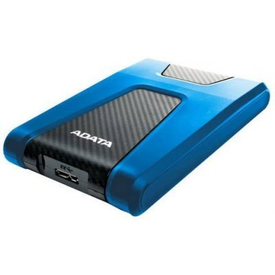 Внешний жесткий диск A-Data 2Tb HD650 DashDrive Durable 2.5 синий (AHD650-2TU31-CBL) (AHD650-2TU31-CBL) кабель publicity hd580 hd600 hd650