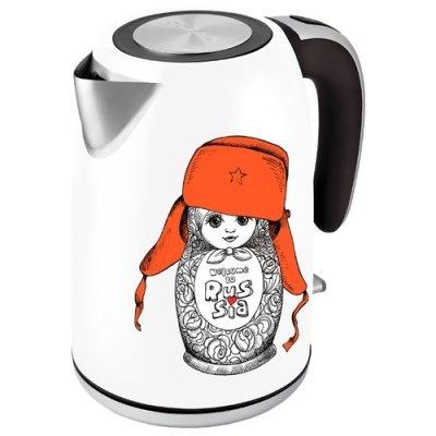 Электрический чайник Polaris PWK 1815CA 1.8л. 2000Вт (PWK 1815CA) polaris pwk 1720cal silver red