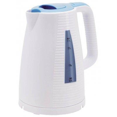 Электрический чайник Polaris PWK 1743C 1.7л. 2200Вт голубой/белый (PWK 1743C) polaris pwk 1765car