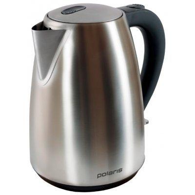 все цены на Электрический чайник Polaris PWK 1707CA 1.7л. 2200Вт серебристый матовый (PWK 1707CA)