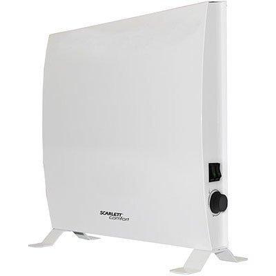 Обогреватель Scarlett SCA H VER14 1000 1000Вт белый (SCA H VER14 1000) конвектор polaris pсh 1024 1000вт белый