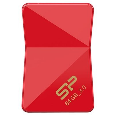 USB накопитель Silicon Power Jewel J08 64Gb красный (SP064GBUF3J08V1R) (SP064GBUF3J08V1R), арт: 273786 -  USB накопители Silicon Power