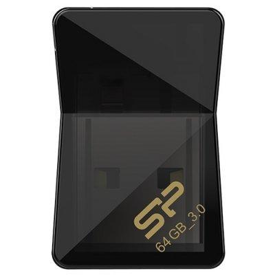 USB накопитель Silicon Power Jewel J08 64Gb черный (SP064GBUF3J08V1K) (SP064GBUF3J08V1K), арт: 273792 -  USB накопители Silicon Power