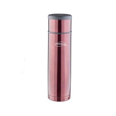 Термос Thermos ThermoCafe EVERYNIGHT-100 Coffee 1 л (цвет кофейный) (272201) термос для еды 0 42 л thermocafe by thermos vc 420 grey 272416