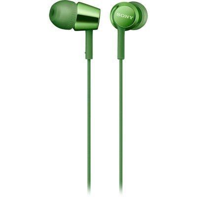 Наушники Sony MDR-EX155AP зеленый (MDREX155APG.E) sony mdr 1abt bm