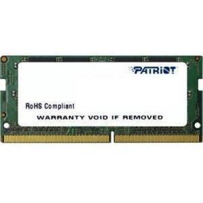 Модуль оперативной памяти ноутбука Patriot PSD44G213341S 4Gb DDR4 (PSD44G213341S) снегоуборщик patriot 777 s