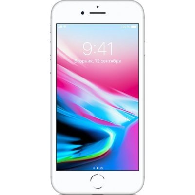 Смартфон Apple iPhone 8 256Gb (MQ7D2RU/A) Silver (Серебристый) (MQ7D2RU/A)