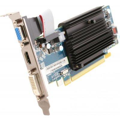 Видеокарта ПК Sapphire PCI-E 11233-02-20G AMD Radeon R5 230 2048Mb 64bit DDR3 625/1334 DVIx1/HDMIx1/CRTx1/HDCP Ret low profile (11233-02-20G) видеокарта msi pci e r7 360 2gd5 ocv1 amd radeon r7 360 2048mb 128bit gddr5 1100 6000 dvix1 hdmix1 dpx1 hdcp ret