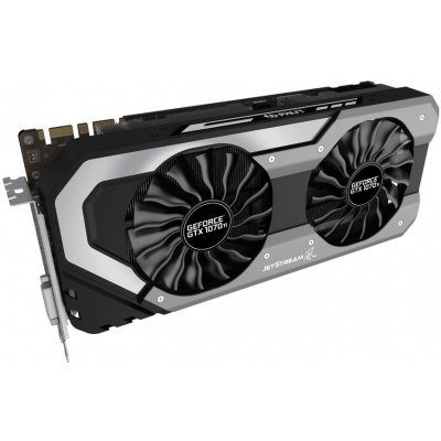 Видеокарта ПК Palit GeForce GTX 1070Ti 8192Mb 256bit GDDR5 (NE5107T015P2-1041J) видеокарта 6144mb msi geforce gtx 1060 gaming x 6g pci e 192bit gddr5 dvi hdmi dp hdcp retail