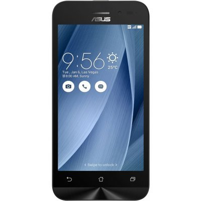 Смартфон ASUS Zenfone Go ZB452KG 8Gb серебристый (90AX0149-M02070) смартфон asus zenfone go zb500kl 16gb white 1b050ru