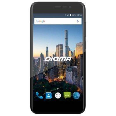 Смартфон Digma CITI MOTION 4G 16Gb черный (CS5025PL) планшет digma plane 1601 3g ps1060mg black