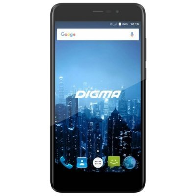 Смартфон Digma CITI Power 4G 16Gb черный (CS5026PL) смартфон digma linxa500