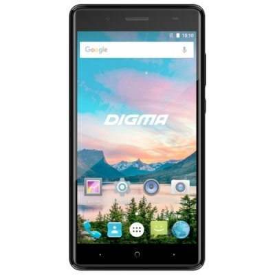 Смартфон Digma HIT Q500 3G 8Gb черный (Q500 3G) смартфон digma linxa500