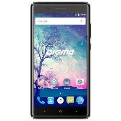 Смартфон Digma VOX S508 3G 16Gb черный (VS5031PG) смартфон digma s505 3g vox черный