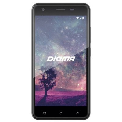 Смартфон Digma VOX G501 4G 16Gb черный (VS5033ML) планшет digma plane 1601 3g ps1060mg black