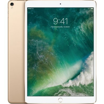 Планшетный ПК Apple iPad Pro 10.5-inch Wi-Fi 64GB - Gold (MQDX2RU/A) купить apple iphone 5 64gb black gold