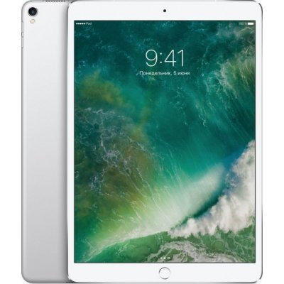 Планшетный ПК Apple iPad Pro 10.5 512GB Wi-Fi + Cellular Silver (Серебристый) (MPMF2RU/A)