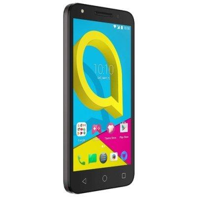 Смартфон Alcatel U5 3G 4047D 8Gb темно-серый (4047D-2AALRU1) смартфон micromax bolt q346 lite 3g 8gb blue