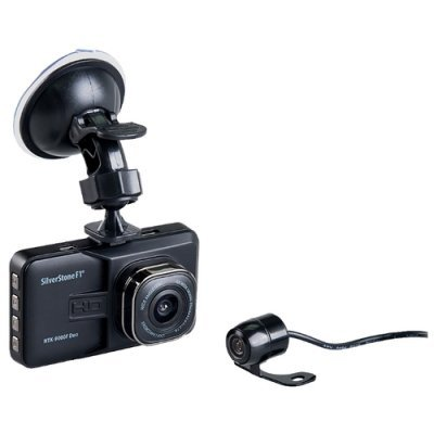 Видеорегистратор Silverstone F1 NTK-9000F Duo черный (NTK-9000F DUO) видеорегистратор mystery mdr 840hd 1 5 1920x1080 5mp 120° microsd microsdhc hdmi