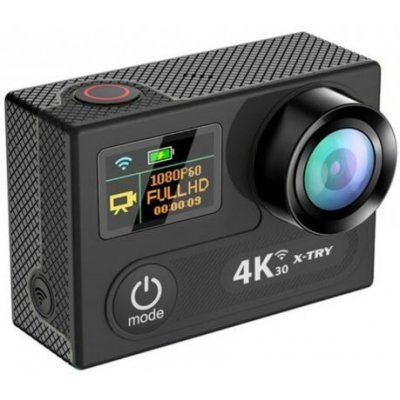 Экшн камера X-TRY XTC220B черный (XTC220В CB) x try xtg300y hd1080p экшн камера