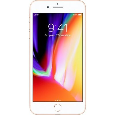 Смартфон Apple iPhone 8 Plus 256Gb Gold (MQ8R2RU/A) смартфон apple iphone 6s plus 16gb gold ios 9 a9 1840mhz 5 5 1920x1080 2048mb 16gb 4g lte 3g edge hsdpa hspa [mku32ru a]