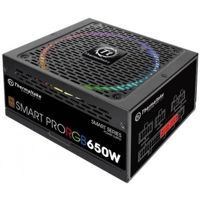 все цены на Блок питания ПК Thermaltake SMART PRO RGB Bronze 650W (PS-SPR-0650FPCBEU-R)