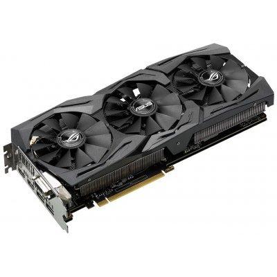 Видеокарта ПК ASUS GeForce GTX 1070 (STRIX-GTX1070-8G-GAMING) видеокарта 6144mb msi geforce gtx 1060 gaming x 6g pci e 192bit gddr5 dvi hdmi dp hdcp retail