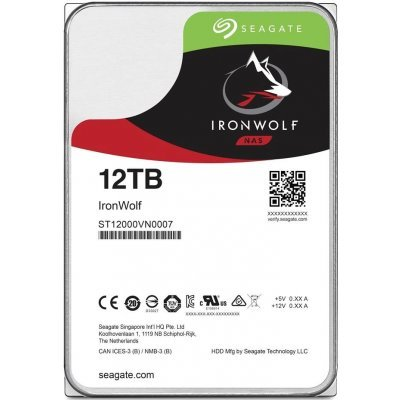 Жесткий диск ПК Seagate ST12000VN0007 12Tb (ST12000VN0007), арт: 274839 -  Жесткие диски ПК Seagate