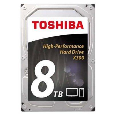 Жесткий диск ПК Toshiba HDWF180EZSTA 8Tb (HDWF180EZSTA), арт: 274845 -  Жесткие диски ПК Toshiba