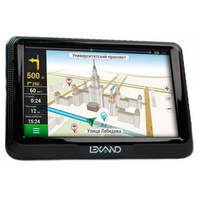 Навигатор GPS Lexand CD5 HD (CD5 HD) gps навигатор lexand cd5 hd 5 авто 4гб navitel 9 стран черный