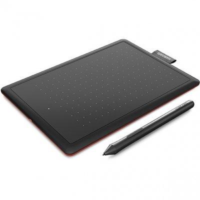 Графический планшет Wacom One CTL-472 черный/красный (CTL-472-N) wacom ctl 472 n red графический планшет