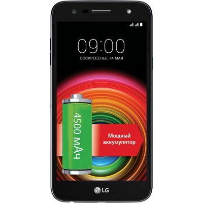 Смартфон LG X Power 2 M320 синий (LGM320.ACISKU) смартфон lg q6a m700 16gb платиновый моноблок 3g 4g 2sim 5 5 1080x2160 android 7 0 13mpix 802 11bgn bt gps gsm900 1800 gsm1900 mp3 fm