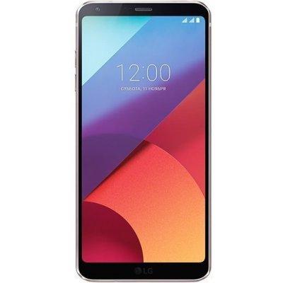 Смартфон LG G6 32Gb золотистый (LGH870S.ACISGD) смартфон lg q6a m700 16gb платиновый моноблок 3g 4g 2sim 5 5 1080x2160 android 7 0 13mpix 802 11bgn bt gps gsm900 1800 gsm1900 mp3 fm