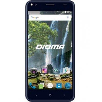 Смартфон Digma VOX E502 4G 16Gb темно-синий (L500B) смартфон digma vox g500 3g 8gb черный vs5027mg