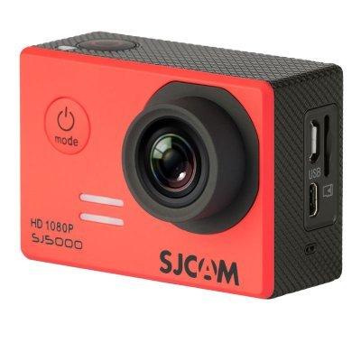 Экшн камера SJCAM SJ5000 красный (SJ5000RED)