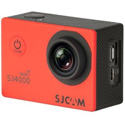 Экшн камера SJCAM SJ4000 WiFi красный (SJ4000WIFIRED)