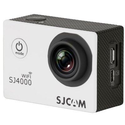 Экшн камера SJCAM SJ4000 WiFi белый (SJ4000WIFIWHITE) экшн камера sjcam sj5000 wifi silver