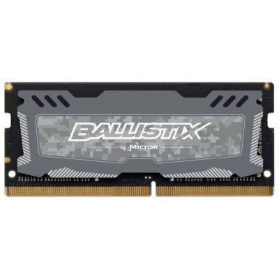 Модуль оперативной памяти ноутбука Crucial 4Gb DDR4 SODIMM (BLS4G4S26BFSD), арт: 275024 -  Модули оперативной памяти ноутбука Crucial