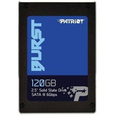 Накопитель SSD Patriot PBU120GS25SSDR 120GB (PBU120GS25SSDR) накопитель ssd patriot pi480gsm280ssdr pi480gsm280ssdr