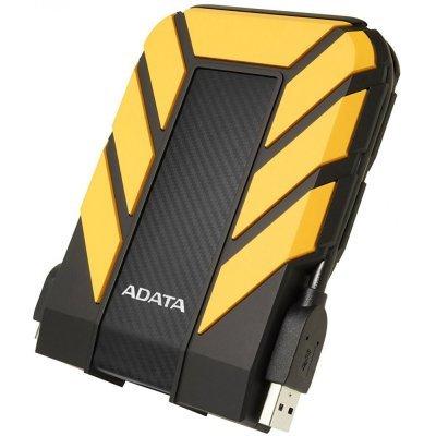 Внешний жесткий диск A-Data HD710 Pro 2Tb желтый (AHD710P-2TU31-CYL) внешний жесткий диск lacie stet2000400 porsche design 2tb серебристый stet2000400