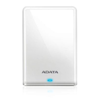 Внешний жесткий диск A-Data HV620S 1Tb белый (AHV620S-1TU3-CWH) жесткий диск a data classic hv100 1tb usb 3 0 black ahv100 1tu3 cbk
