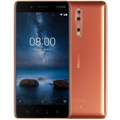 Смартфон Nokia 8 Dual Sim медный (11NB1M01A08), арт: 275268 -  Смартфоны Nokia