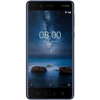 Смартфон Nokia 8 Dual Sim TA-1004 4/64Gb Stainless Steel (Матовый стальной) (11NB1S01A09) айфон 4 s 64 гб в москве