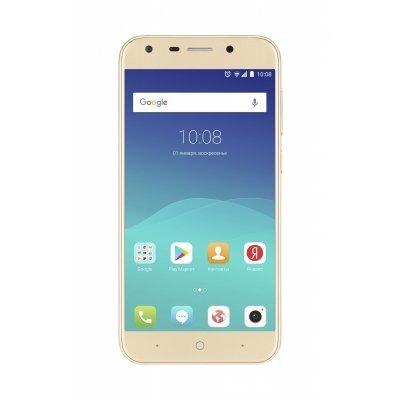 Смартфон ZTE Blade A6 золотистый (Blade A6 gold) смартфон zte blade a6 черный 5 2 32 гб lte wi fi gps 3g blade a6 gold