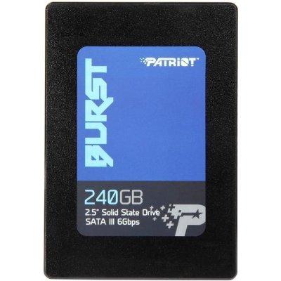 Накопитель SSD Patriot PBU240GS25SSDR 240Gb (PBU240GS25SSDR) накопитель ssd patriot pi480gsm280ssdr pi480gsm280ssdr