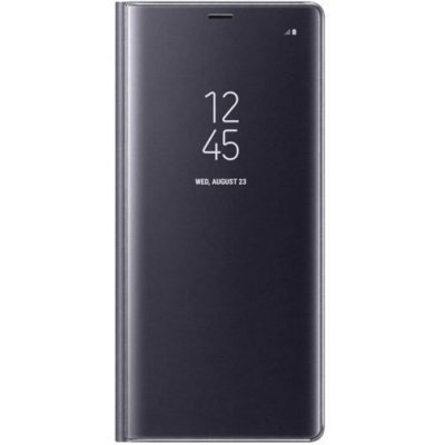 Чехол для смартфона Araree для Samsung Galaxy Note 8 Clear View Standing Cover Great фиолетовый (EF-ZN950CVEGRU) (EF-ZN950CVEGRU) чехол клип кейс samsung alcantara cover great для samsung galaxy note 8 хаки [ef xn950akegru]