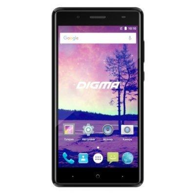 Смартфон Digma VOX S509 3G черный (VS5032PG) смартфон asus zenfone live zb501kl золотистый 5 32 гб lte wi fi gps 3g 90ak0072 m00140