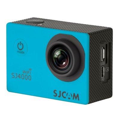 Экшн камера SJCAM SJ4000 WiFi синий (SJ4000WIFIBLUE) карты памяти